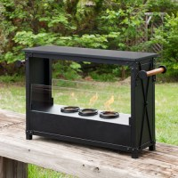 Bowser Portable Indoor/outdoor Fireplace - Walmart.com