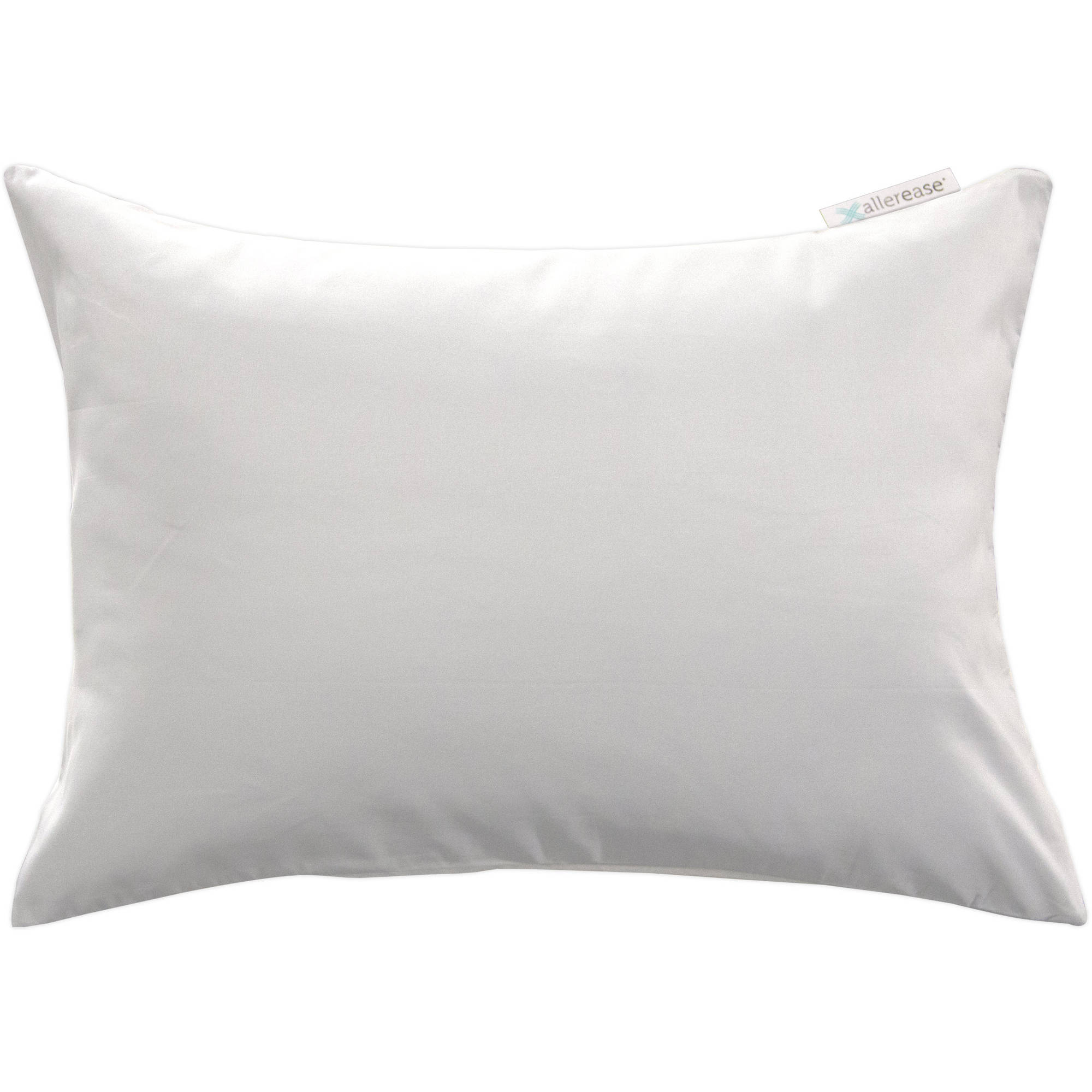 allerease 14 x 20 zippered travel pillow protector 1 each