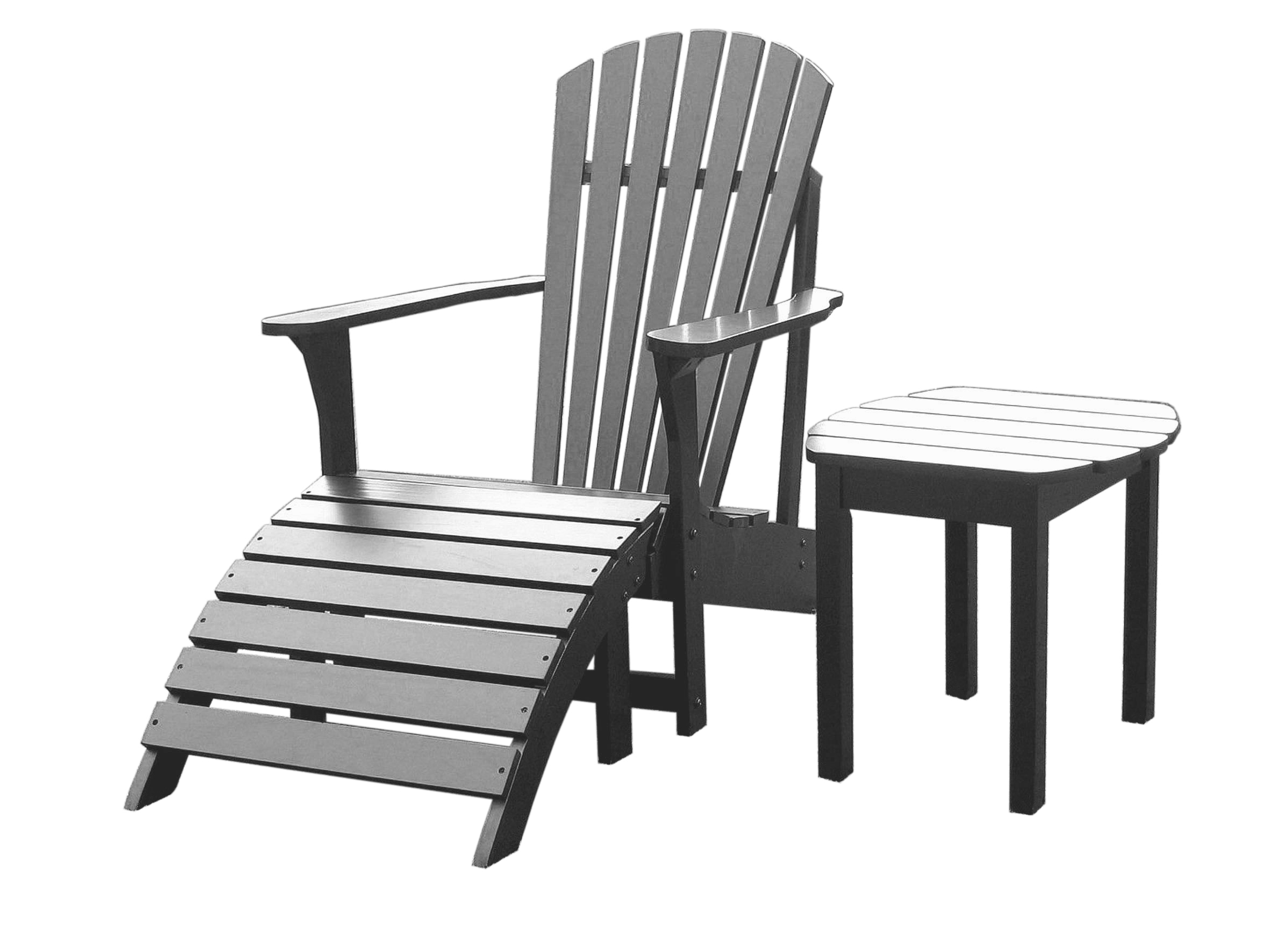 walmart adirondack chairs posture with chair and side table in black