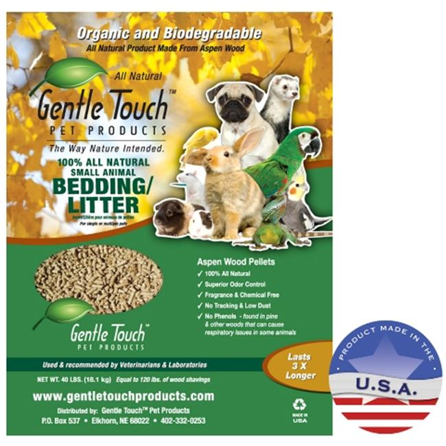 gentle touch products 010ll01 40 small animal bedding