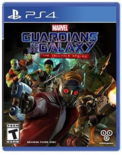 Guardians Of The Galaxy Telltale Series Season Pass Disc