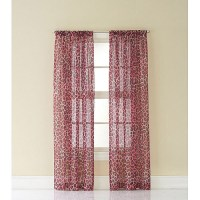 CHF & You Cheetah Print Girls Bedroom Curtain Panel ...