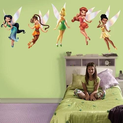 fathead disney fairies wall decal walmart
