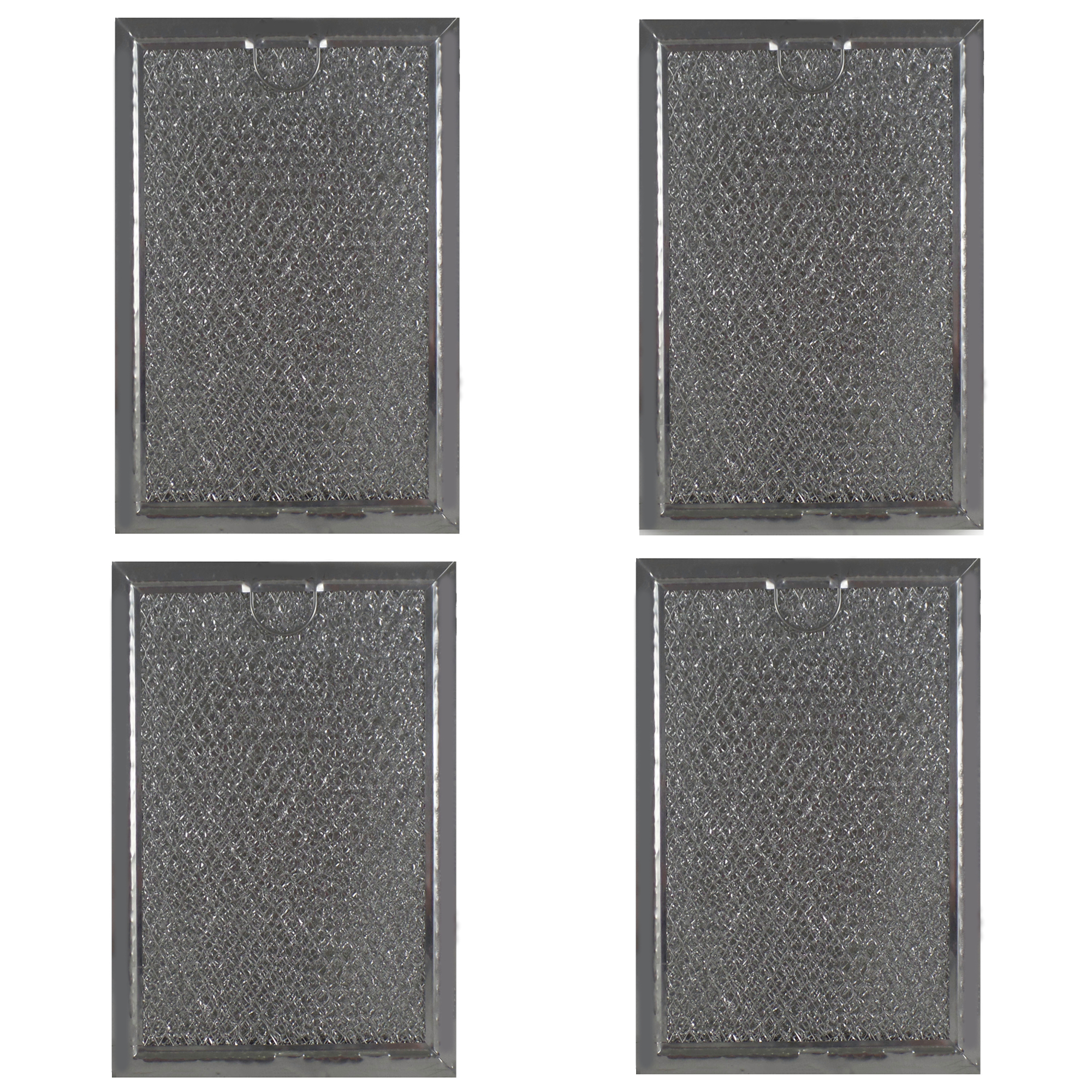 grease filter for whirlpool microwave 5 1 16 x 7 5 8 x 3 32 4 pack