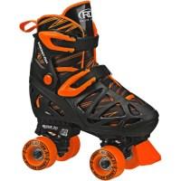 Roller Derby RD Quad Boy Roller Skates, M, 3