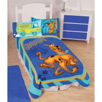 Scooby Doo Twin Fleece Polyester Blanket for Kids ...
