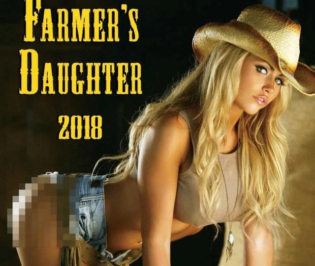 Farmers Daughter Wall Calendar Hot Girls By Zebra Publishing