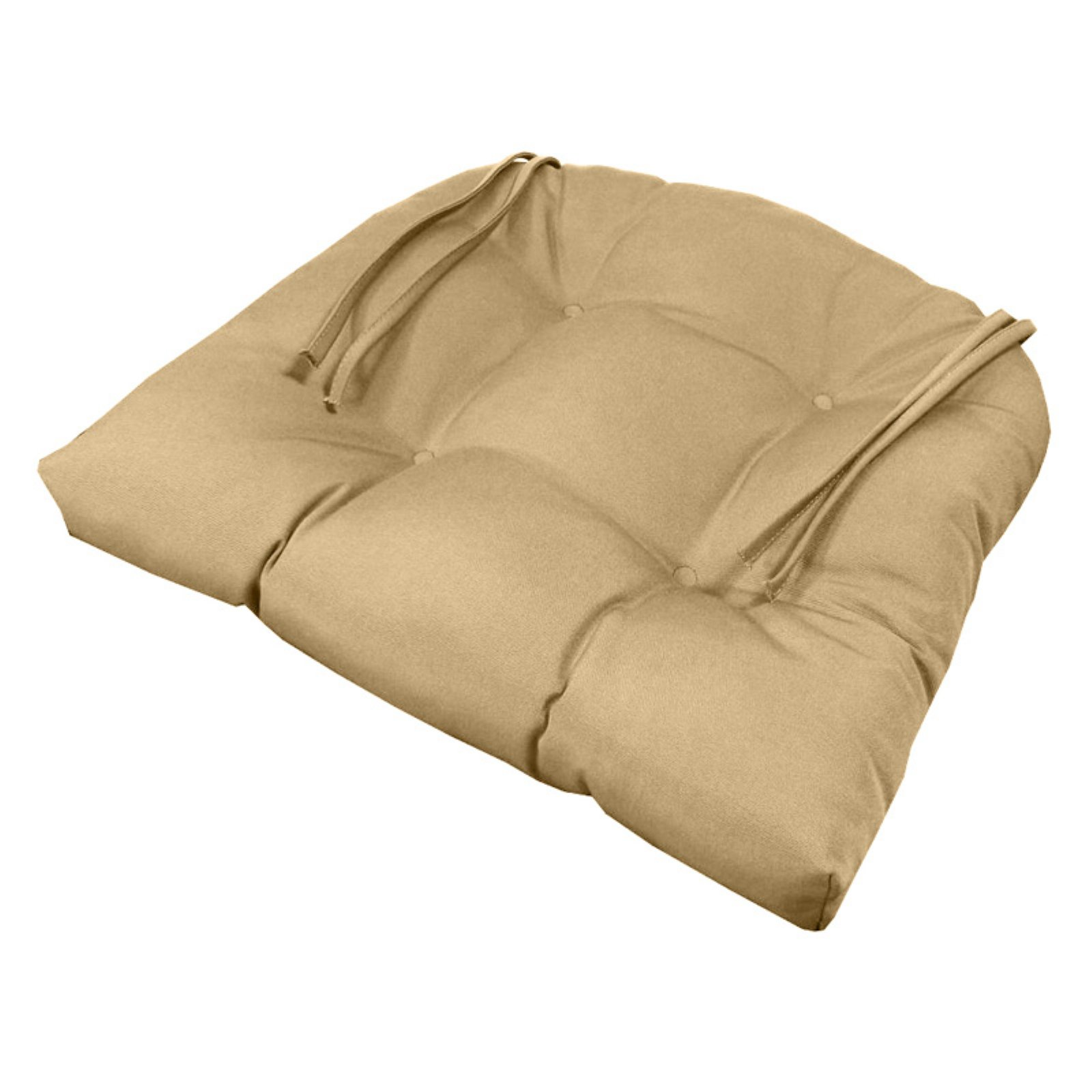 wicker chair cushions with ties metal chairs and table cushion pros sunbrella tufted
