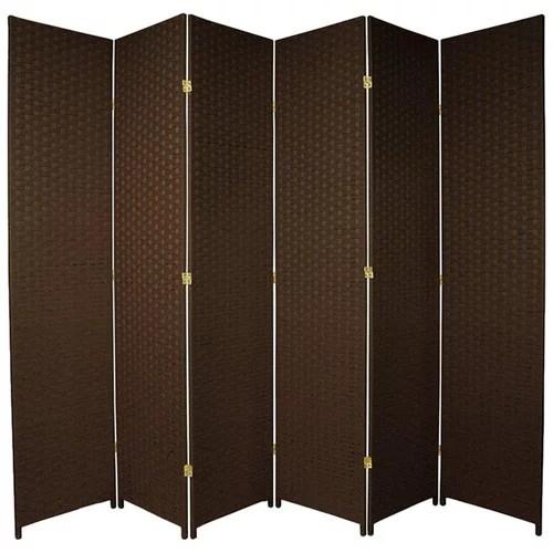 4 Tall Woven Fiber Room Divider  Walmartcom