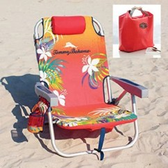 Backpack Cooler Beach Chair Chairs With Shade Tommy Bahama 2016 Orange Storage Pouch And Towel Bar Plus Carry On Insulated Lunch