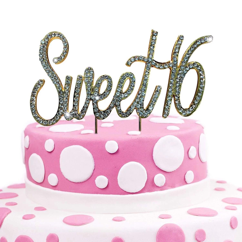 jennygems sweet 16 cake