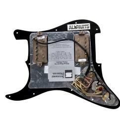 920d custom loaded black hh pickguard seymour duncan sh 2n tb 4 black walmart com [ 1600 x 1600 Pixel ]