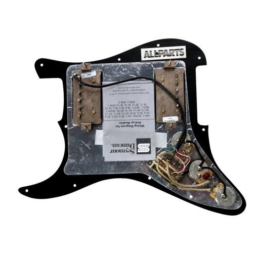 small resolution of 920d custom loaded black hh pickguard seymour duncan sh 2n tb 4 black walmart com