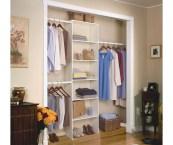 closet organization shelves