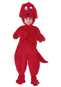 Deluxe Clifford The Big Red Dog Costume - Walmart.com