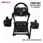 Gt Omega Racing Wheel Stand For Logitech G29 Driving Force Gaming Steering Wheel Pedals Gear Shifter Mount V1 Ps4 Xbox Ferrari Pc Foldable Tilt Adjustable To Ultimate Sim Racing Experience