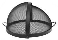 "46"" 304 Stainless Steel Pivot Round Fire Pit Safety Screen ..."