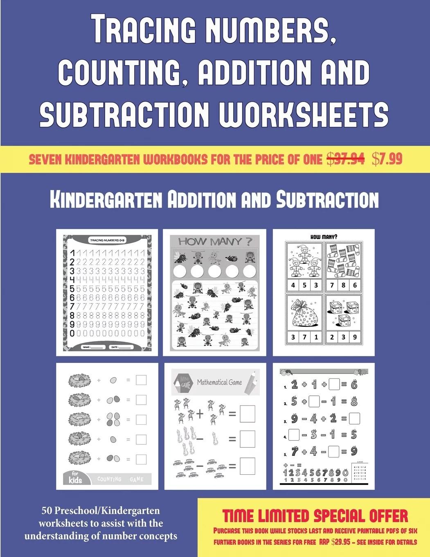 Kindergarten Addition And Subtraction Kindergarten
