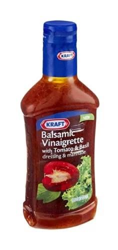 Kraft Balsamic Tomato Basil Salad Dressing 16 Oz