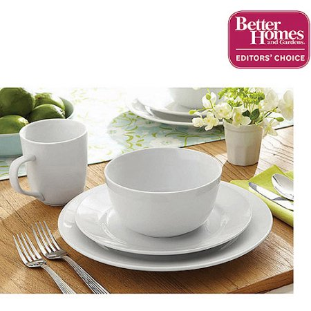 16 Pc Better Homes And Gardens Dinnerware $34.97 At Walmart