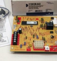 21d83m 843 furnace fan control for lennox 83m00 50a66 122 50a66 123 white rodger walmart com [ 1600 x 871 Pixel ]