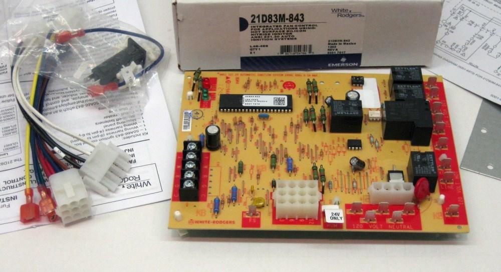 medium resolution of 21d83m 843 furnace fan control for lennox 83m00 50a66 122 50a66 123 white rodger walmart com