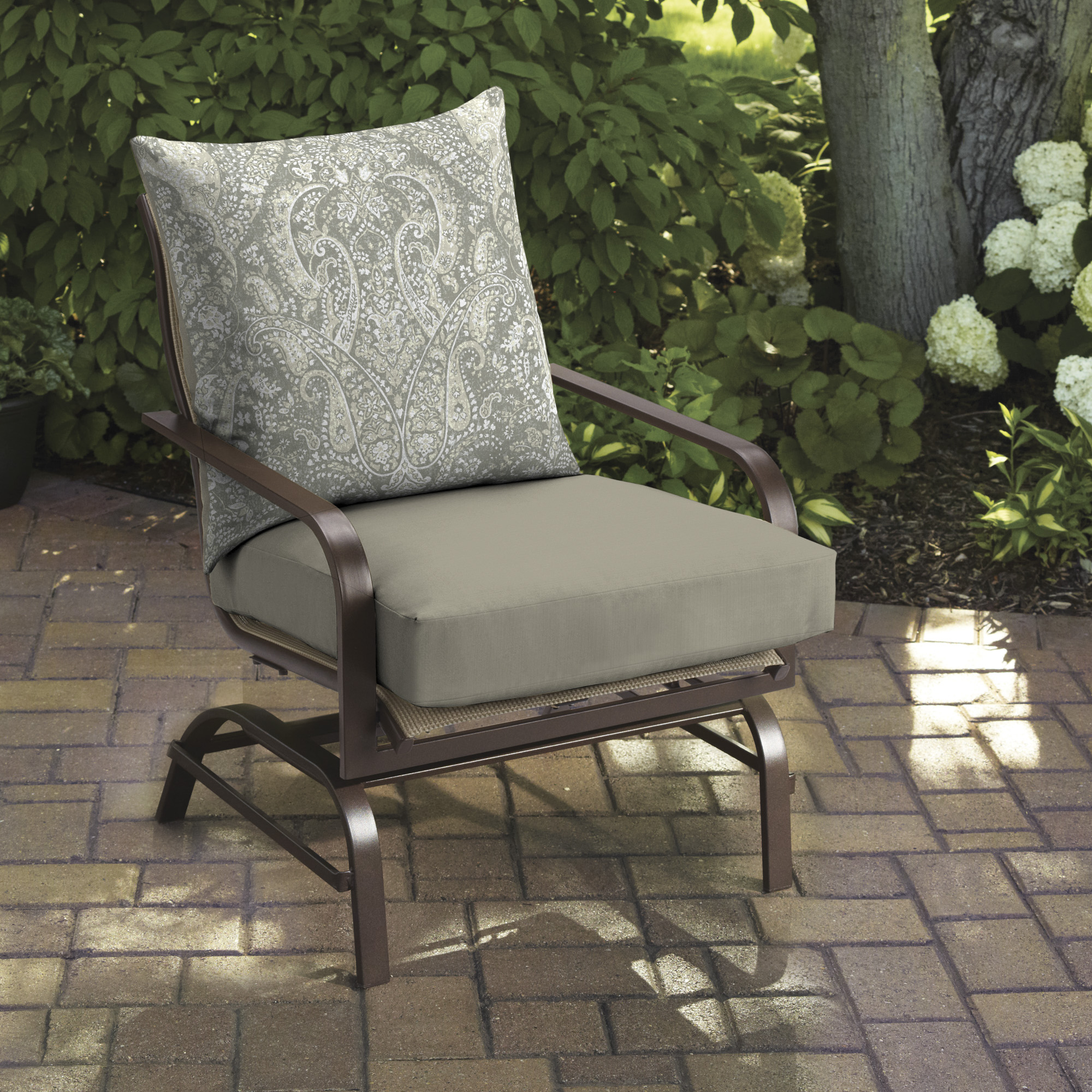 better homes gardens navy 24 x 24 outdoor deep seating seat cushion