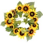 Fall Sunflower Wreath Walmart Com Walmart Com