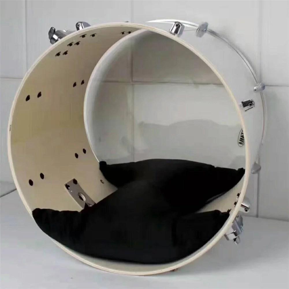 bass drum pillow jazz drum damper muffling tool accessories black
