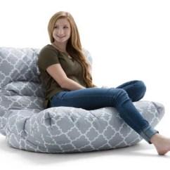 Big Joe Roma Floor Chair Dining Room Slipcovers Bean Bag Multiple Colors Fabrics Walmart Com