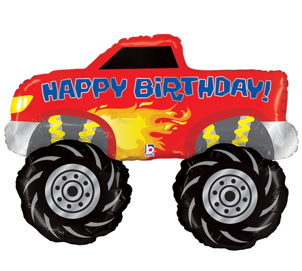 monster truck party giant