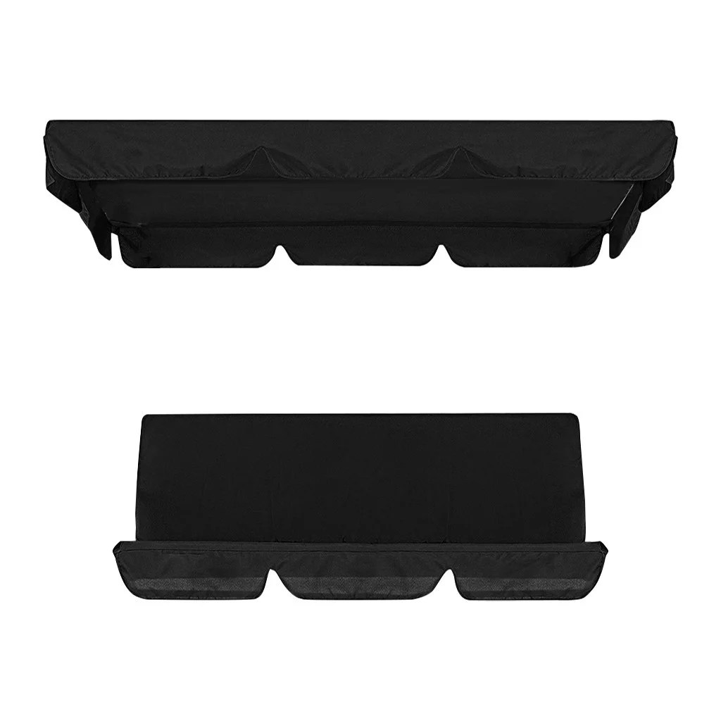 siaonvr patio swing canopy cover set swing replacement top cover swing cushion cover