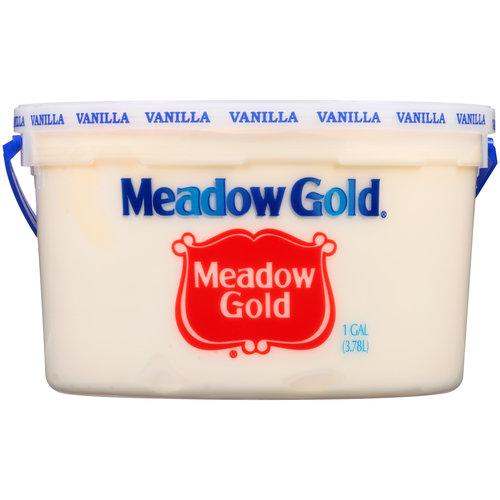 Meadow Gold Vanilla Ice Cream 1 gal - Walmart.com