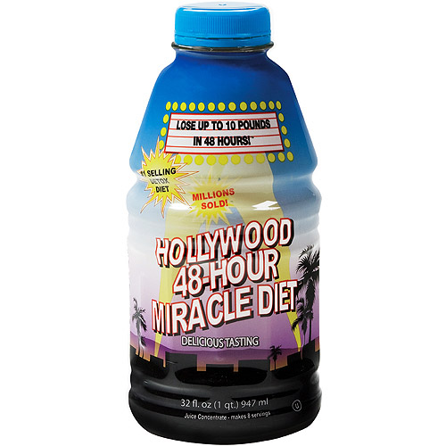 Hollywood 48-Hour Miracle Diet 32 fl oz - Walmart.com