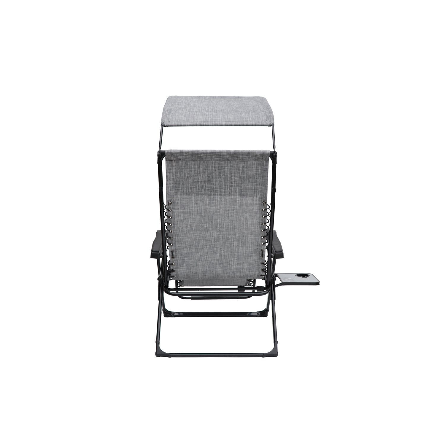 xl zero gravity chair with canopy sliding pillow folding side table how to protect wall from rocking mainstays extra large and tan walmart com