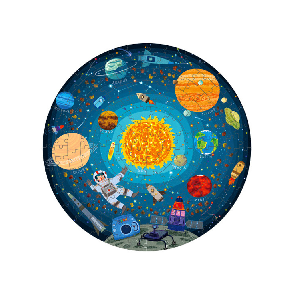 Children S Solar System Puzzle Learn The Solar System