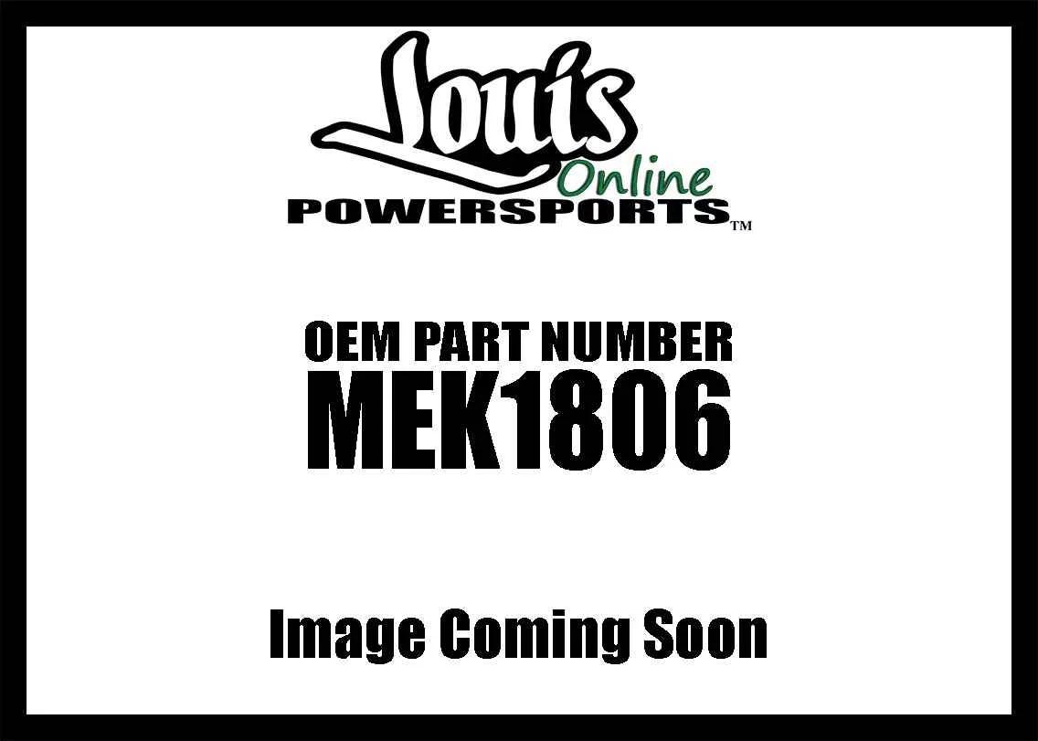 Memphis Shades Plate Kit Bw Yamaha Pol Mek New