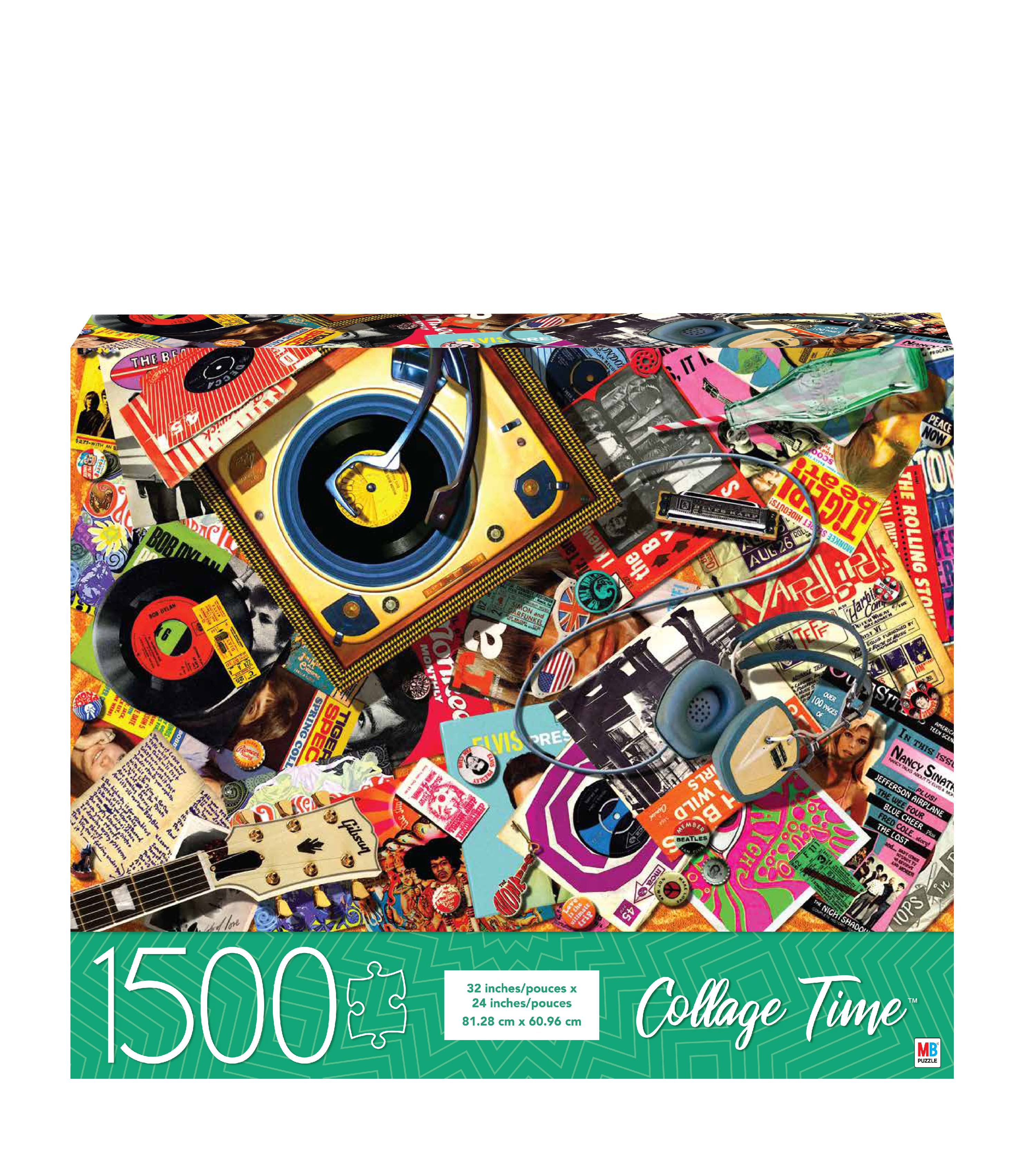 Collage Time Piece Puzzle The S