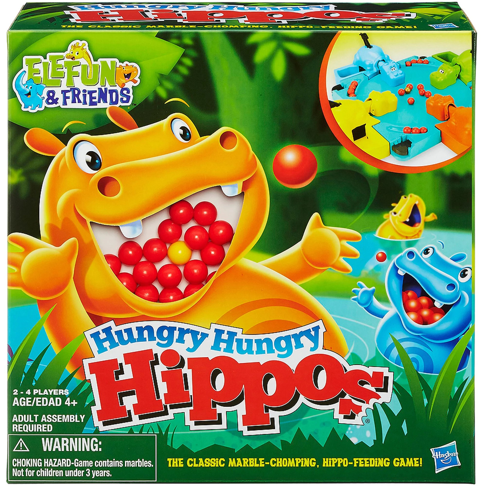 Elefun Friends Hungry Hungry Hippos Game Walmart