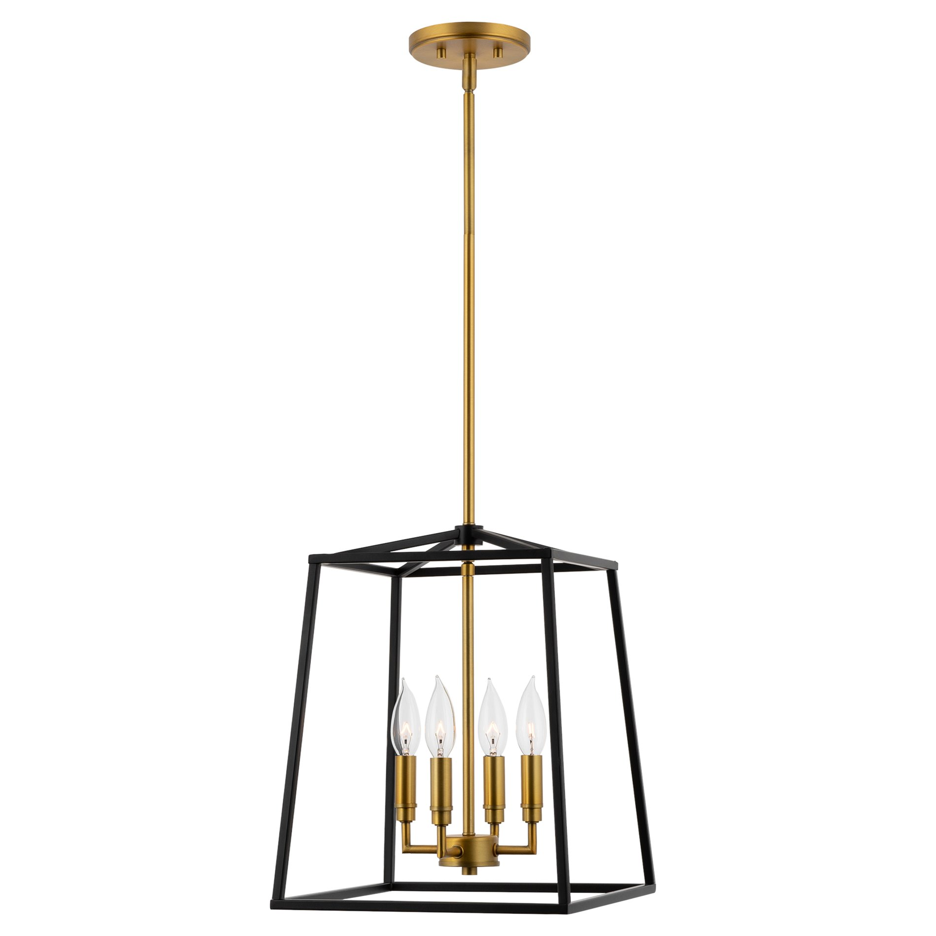 kira home bellevue 15 5 4 light farmhouse lantern pendant light adjustable foyer chandelier warm brass accents black