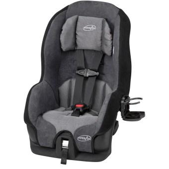 Evenflo Tribute LX Harness Convertible Car Seat, Solid Print Gray - Walmart.com - Walmart.com