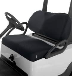 classic fairway golf cart diamond air mesh seat cover black walmart com [ 1500 x 1500 Pixel ]
