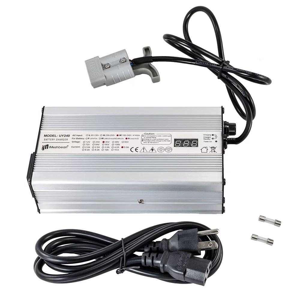 hight resolution of imeshbean 36v 36 volt golf cart battery charger for ez go ezgo marathon 83 94 sb50 yamaha walmart com
