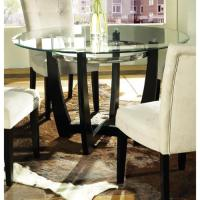 Greyson Living Monoco 48-inch Round Glass Top Table by ...