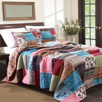 New Bohemian Full BedSpread Set, 3-Piece-Multi - Walmart.com