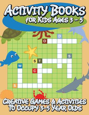 Activity Books For Kids Ages 3 5 Creative Games