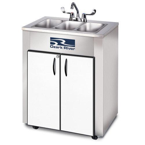 Ozark River Portable Sinks Elite Series 26 x 18 Triple