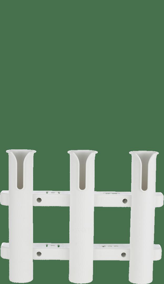 folding chair fishing pole holder retro leather dining chairs uk sea dog three side mount rod white best