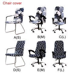 Dining Chair Seat Covers B And M 1800 Barber Premium Office Computer Cover Stretch Cushion Durable Protectors Protector Slipcover Walmart Com