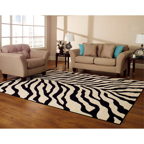 animal rugs for living room designer tool hometrends zebra walmart com departments